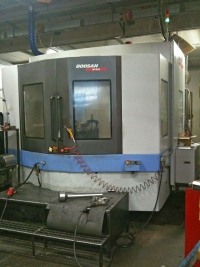 Doosan machining center
